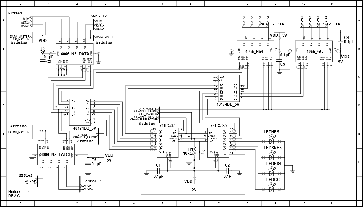 Nes Wiring Diagram Wiring Diagram